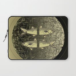 Planetary Mood 5b / Vertical Divergence 10-02-17 Laptop Sleeve
