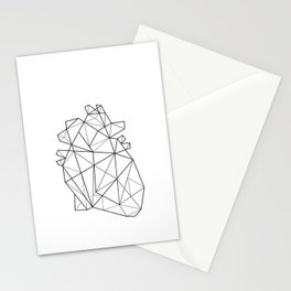 Origami Heart Stationery Cards