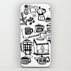Coffee Doodles iPhone & iPod Skin