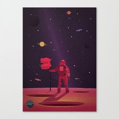 SPACEMAN WENT TRAVELLING Canvas Print