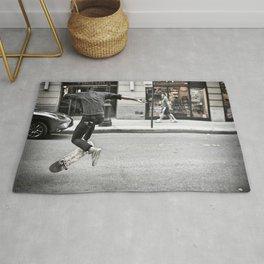 Mid-Air Skater Rug