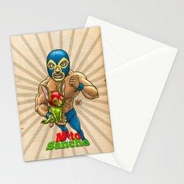 Mito & Sancho, sensacionales de la lucha libre Stationery Cards