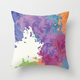 Sometimes Process is Messy Throw Pillow