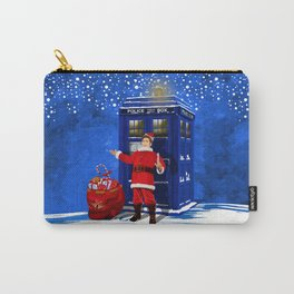 10th Doctor who Santa claus iPhone 4 4s 5 5s 5c, ipod, ipad, pillow case and tshirt Carry-All Pouch