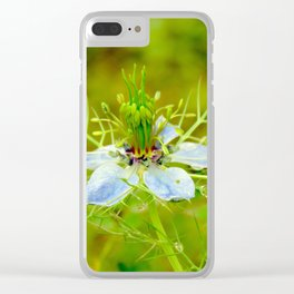 """Petals and Droplets (ii)"" by ICA PAVON Clear iPhone Case"