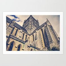 Bermuda Cathedral Art Print