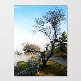Winter Skeleton Canvas Print