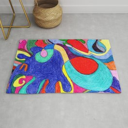 Crayon Mom Color Pop Rug