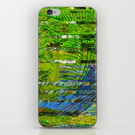 Landscape of My Heart (segment 4) iPhone Skin