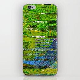 Landscape of My Heart (segment 4) iPhone Skin