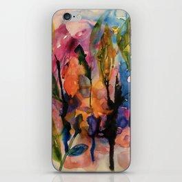 evening garden iPhone Skin