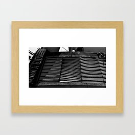 marquee attraction Framed Art Print