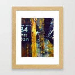 Underneath NYC: 34th Street on the 2/3 Framed Art Print