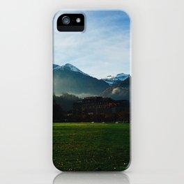 Foggy Switzerland iPhone Case