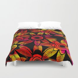 Big Floral 1 Duvet Cover