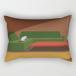 Quiet Morning Rectangular Pillow