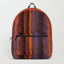 Wildfire Watercolor Stripe Backpack