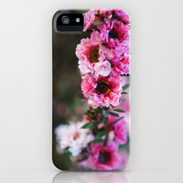 Tea Flower iPhone Case