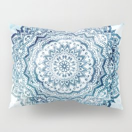 BLUE JEWEL MANDALA Pillow Sham