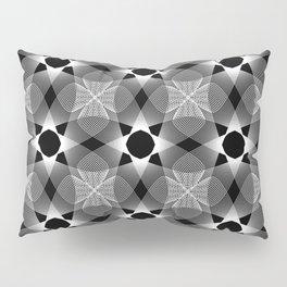 Ah Um Design #002-black Pillow Sham