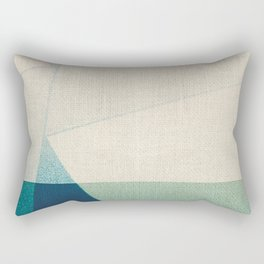 Water Splitter Rectangular Pillow