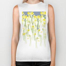 Daffodils Biker Tank