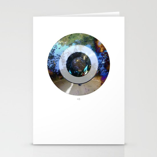 Turning Circles 3 Stationery Cards