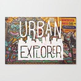 URBAN EXPLORER Canvas Print