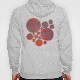 """Pastel Abstract Symmetrical Landscape"" Hoody"