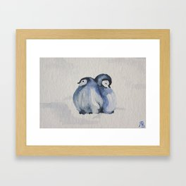2 cold Framed Art Print