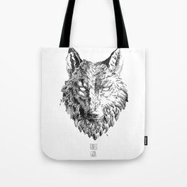 Forest Gods | Wolf Tote Bag