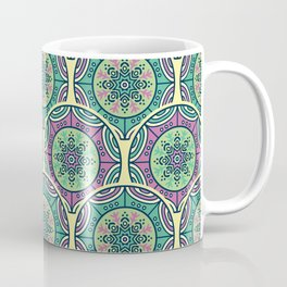 Mosaico Purple Teal Coffee Mug