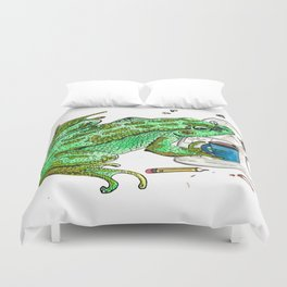 Gaylord's Weekly Challenge Duvet Cover