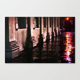 Purple Street Corner Canvas Print