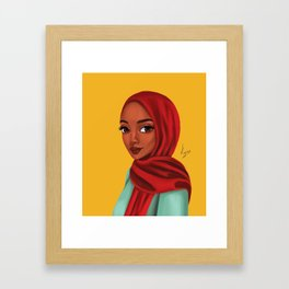 jamilah Framed Art Print