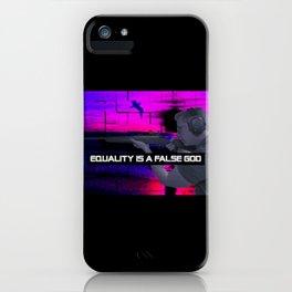 Philipp Amthor - Equality Is A False God iPhone Case