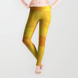 """Honey sun"" kaleidoscopic design Leggings"