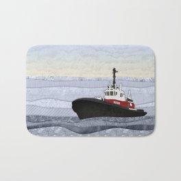 Tugboat Bath Mat