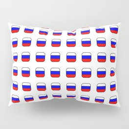 Flag of russia -with soft square Pillow Sham