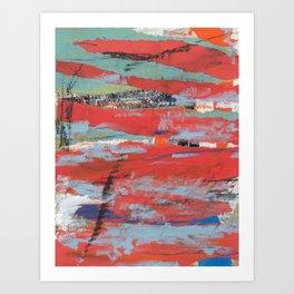 A peek into this world Art Print