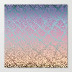 Pink Beige Elephant Skin Canvas Print