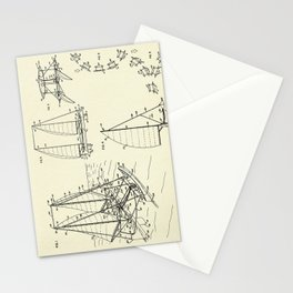 Outrigger Sailboat-1977 Stationery Cards