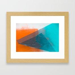 Wet Colors 3 Framed Art Print