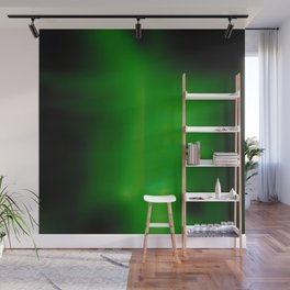Green Goo Smear Wall Mural
