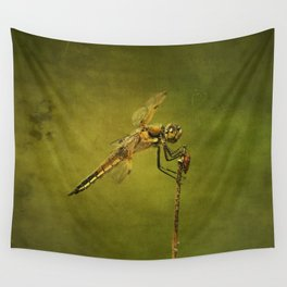 4-Spotted Skimmer Dragonfly Wall Tapestry