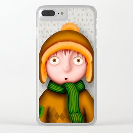 Le Petit Enfant Clear iPhone Case