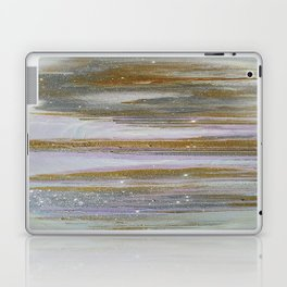 Gold and Silver Deluge Laptop & iPad Skin