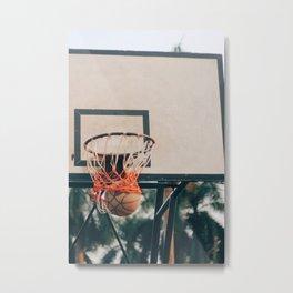Basketball 56 Metal Print