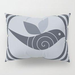 bird and circles Pillow Sham