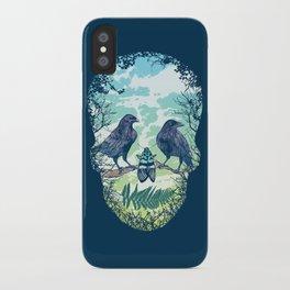 Nature's Skull iPhone Case